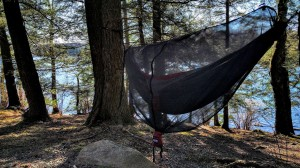My ENO rig, minus rain fly handled the high 20's like a champ!