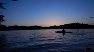Night 2 paddle