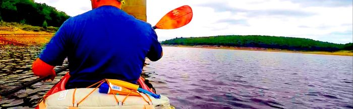 Kayaking Frances E Walter Reservoir:8.5.16