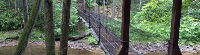 Lightning, Thunder & Bears… Oh My! 3 Days: Dodging Rain at Trough Creek State Park